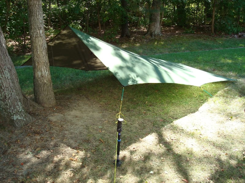 "11' x 10' Tarp - Flying ""V"""