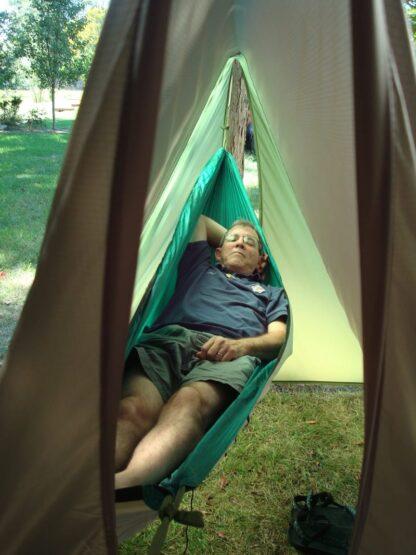 11' x 10' Tarp Tent - Inside