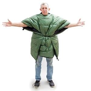 Sierra Sniveller Wearable Camping Quilt