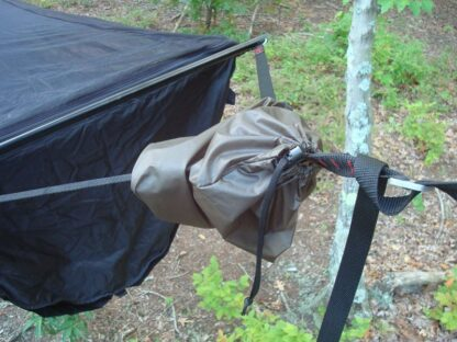 Speed Bag on Hammock Suspension Strap