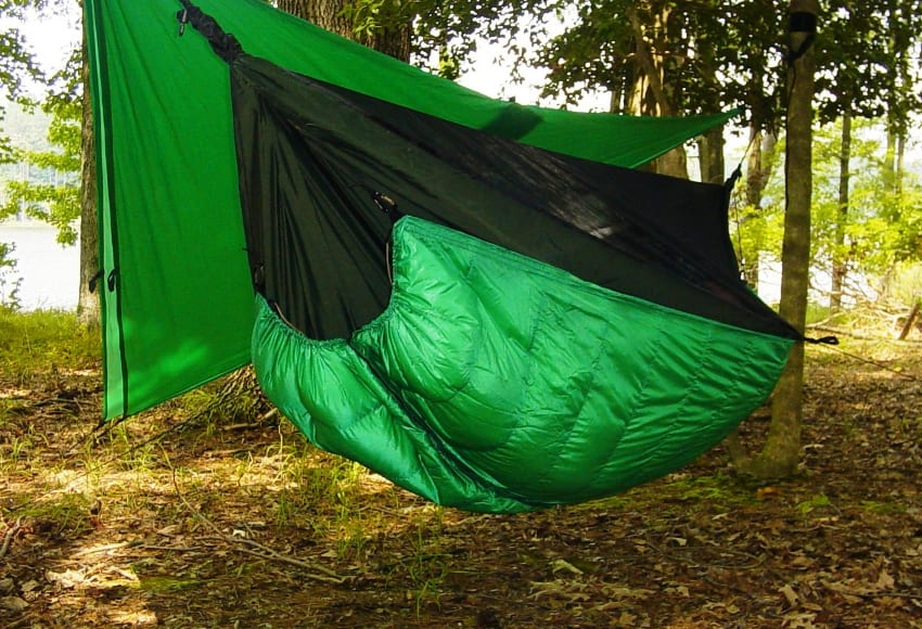 Medium image of the winter nest original hammock under quilt